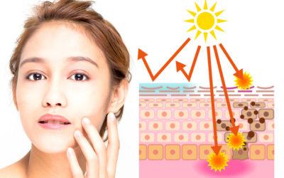 Protectores solares físicos y químicos
