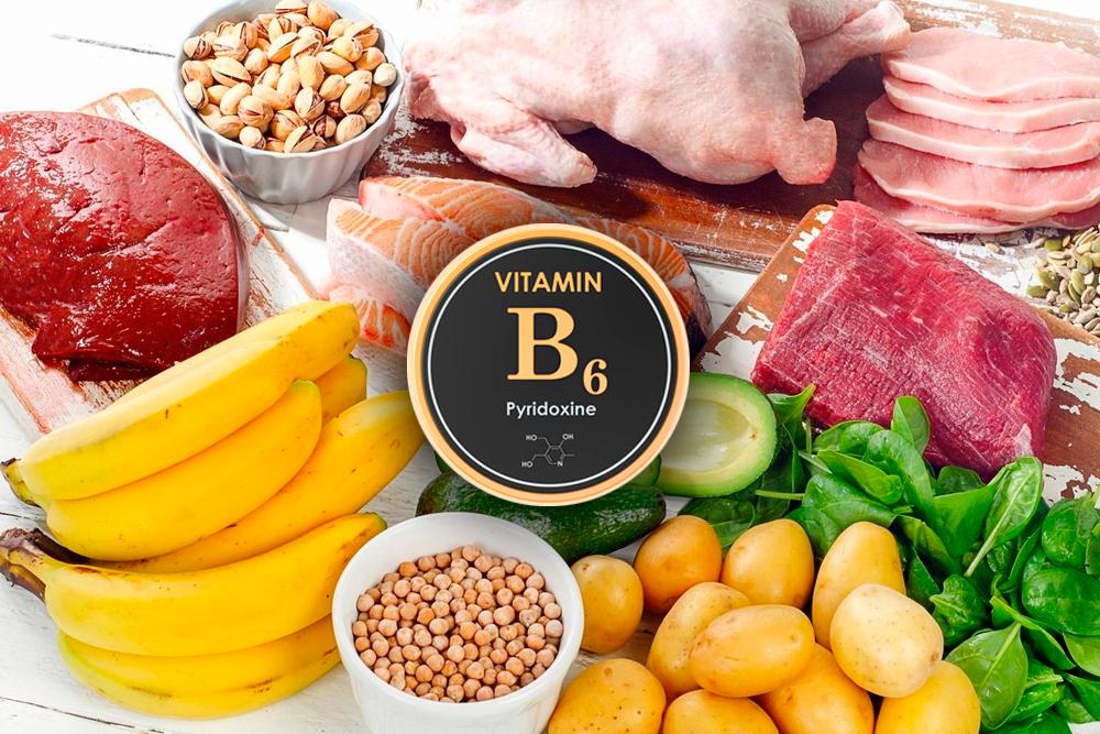 La vitamina B6, Pyridoxina.