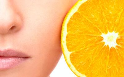 Vitamina C, vital para la síntesis del colágeno