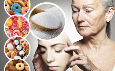 ¿Perjudica el azúcar refinado a la piel? La glicación.